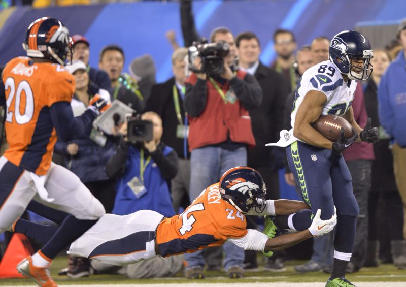 A 37-yard reception by Seattle's Doug Baldwin set up a first-quarter field goal.