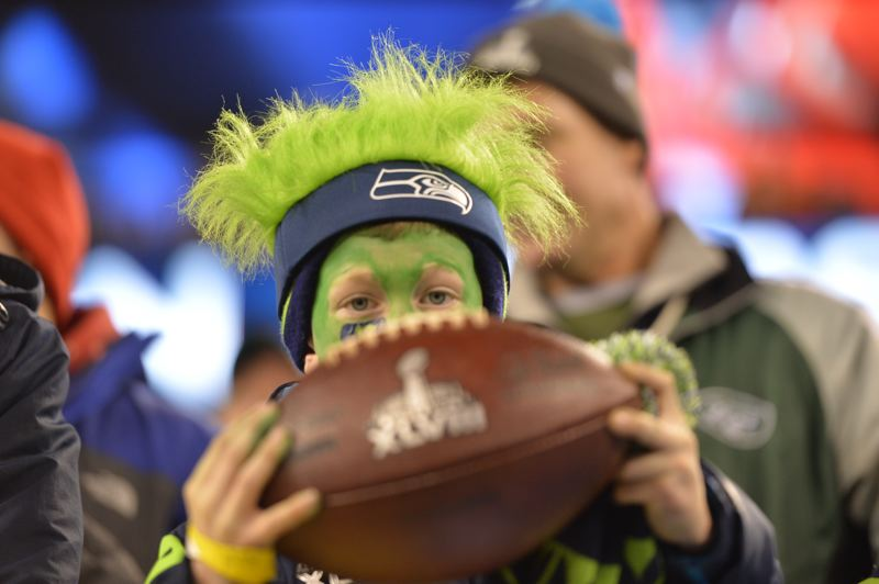 The Seahawks had their fans at MetLife Stadium.