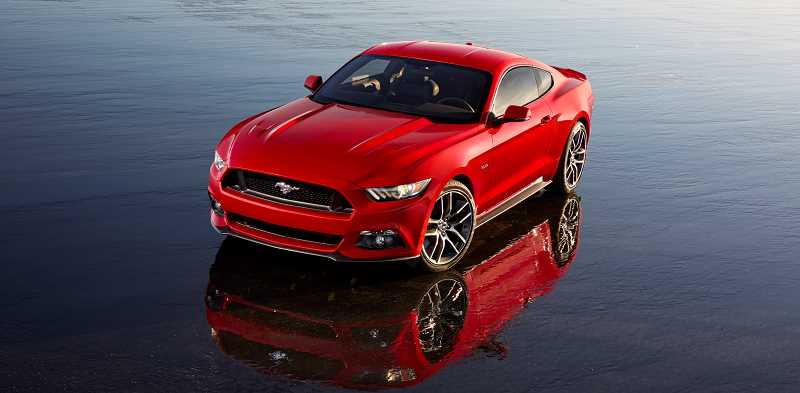 by: SUBMITTED PHOTO: FORD MOTOR COMPANY - The redesigned 2015 Ford Mustang is expected to be a highlight of the 2014 Portland International Auto Show.