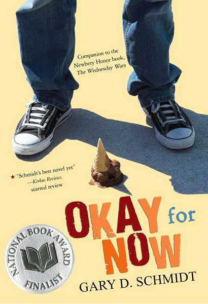 by: SUBMITTED PHOTO - The Wood Reads program is focused this year on Okay for Now, by Gary Schmidt, and will wrap up in March with a visit from the author.