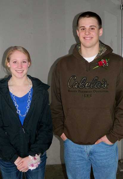 by: VINCE TERESI - Mount Angel's Junior First Citizens are Emily Schmidt and Blake Traeger.
