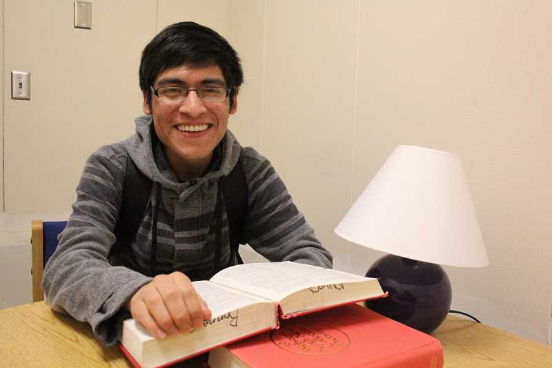 by: LINDSAY KEEFER - Woodburn senior Sergio Ramirez Salazar has been awarded the Act Six Scholarship. Ramirez Salazar will attend George Fox and plans to major in computer science.