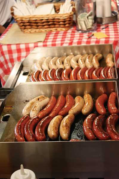by: FILE PHOTO - There will be sausages galore at this year's Mount Angel Wurstfest.