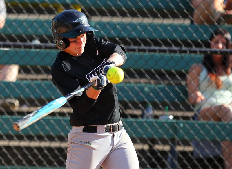 by: COURTESY OF SCOTT LARSON - Crysta Conn was 8 of 16 at the plate for Portland State as the Vikings went 2-3 at last week's Kajikawa Classic in Tempe, Ariz.
