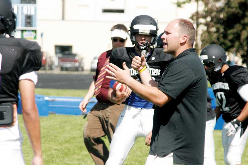 by: PHIL HAWKINS - Bulldog football coach Nick Federico is looking for volunteers to help revive Woodburn's dormant youth football program that last served kids from 2004 through 2008.