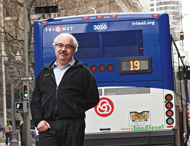 by: TRIBUNE PHOTO: JAIME VALDEZ - Kevin Downing from the Oregon Department of Environmental Quality helps companies and agencies secure funds to retrofit or replace  heavy trucks and off-road diesel equipment.