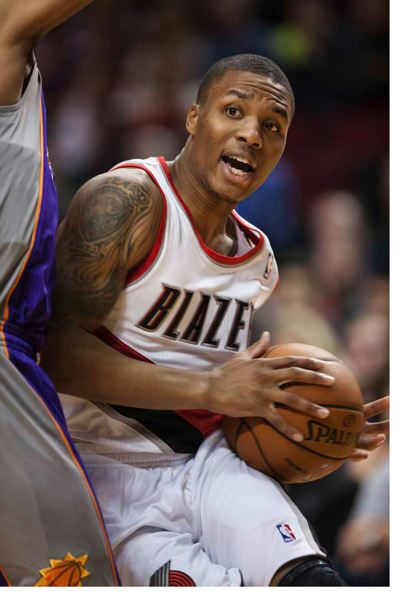 by: TRIBUNE PHOTO: JAIME VALDEZ - DAMIAN LILLARD