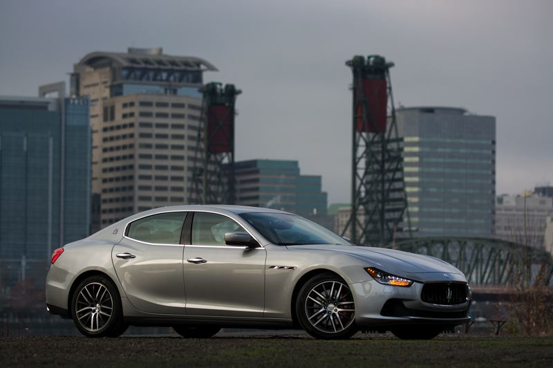 by: JOHN M. VINCENT - Yes, the Ghibli is a real Maserati for around $66,000,