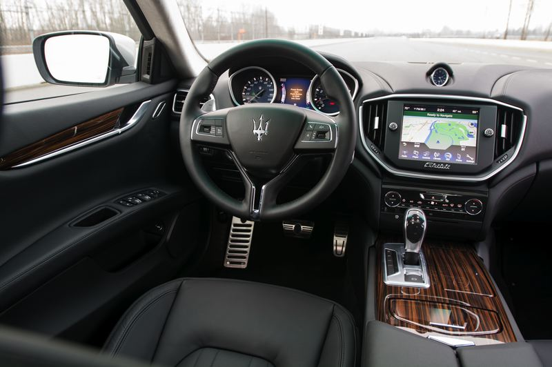 by: JOHN M. VINCENT - The interior of the Ghibli reveals its Chrysler connections, but that's no longer a bad thing.