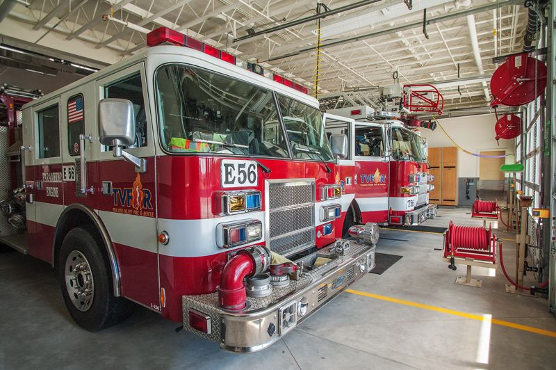 by: SPOKESMAN PHOTO: JOSH KULLA - TVF&R opened a new fire station and operations center in north Wilsonville in 2013, one of many public and private projects that have spurred significant growth in the city in the past several years.