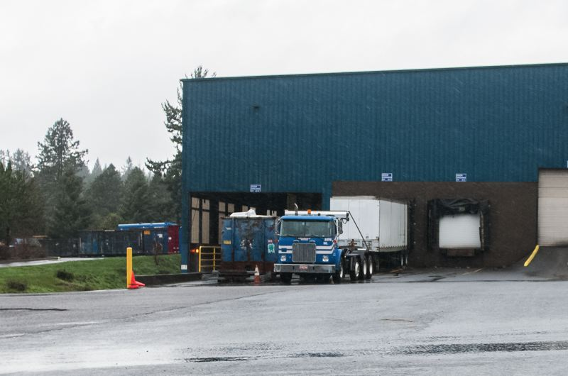 by: SPOKESMAN PHOTO: JOSH KULLA - The Republic Services solid waste transfer station on Ridder Road in Wilsonville.