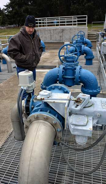 by: RAY HUGHEY - Dave Connor, the Canby wastewater treatment plant manager, and his staff have been aggressive in looking for ways to save money in the operation and maintenance of the facility.