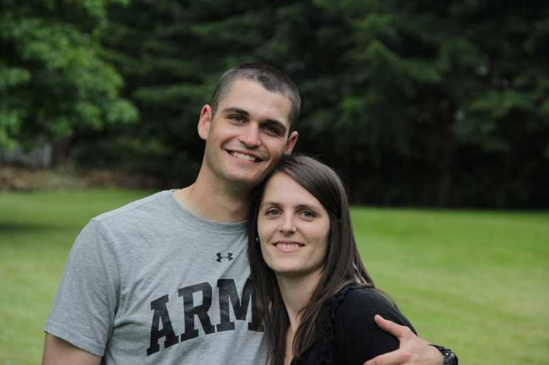 by: SUBMITTED PHOTO - John A. Pelham of Beaverton, shown here with Lyndsey Pelham Lederer, was killed Wednesday, Feb. 12, in Afghanistan. He was a 2010 graduate of Sunset High School.