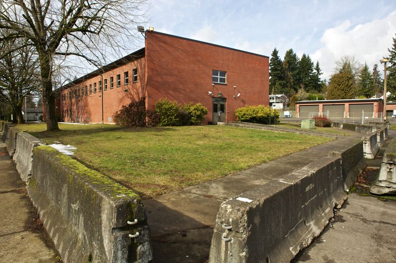 by: TRIBUNE PHOTO: JAIME VALDEZ - Now that the city has some extra money to spend, the Bureau of Emergency Management wants to build a fueling center for city vehicles at the former SFC Jerome Sears Armory in Southwest Portland.