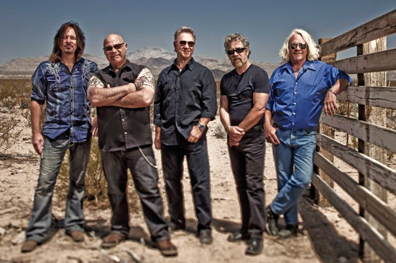 by: COURTESY OF JEFF DOW - Creedence Clearwater Revival, the newer CCR, keeps playing the great hits of the 1970s. They are (left to right): Kurt Griffey, John Tristao (the singer), Stu Cook, Doug Cosmo Clifford (the drummer) and Steve Gunner. Theyll play Chinook Winds Casino & Resort, Feb. 28 and March 1.