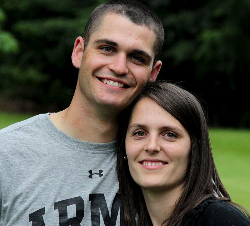 by: COURTESY OF THE PELHAM FAMILY - John A. Pelham of Beaverton, shown here with Lyndsey Pelham Lederer, was killed Wednesday, Feb. 12, in Afghanistan. He was a 2010 graduate of Sunset High School.