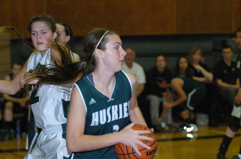 by: PAMPLIN MEDIA GROUP / FILE - The North Marion boys and girls basketball teams are hosting a Feb. 25 fundraiser to benefit the American Heart Association. Above, senior guard Michaela Meeuwsen.