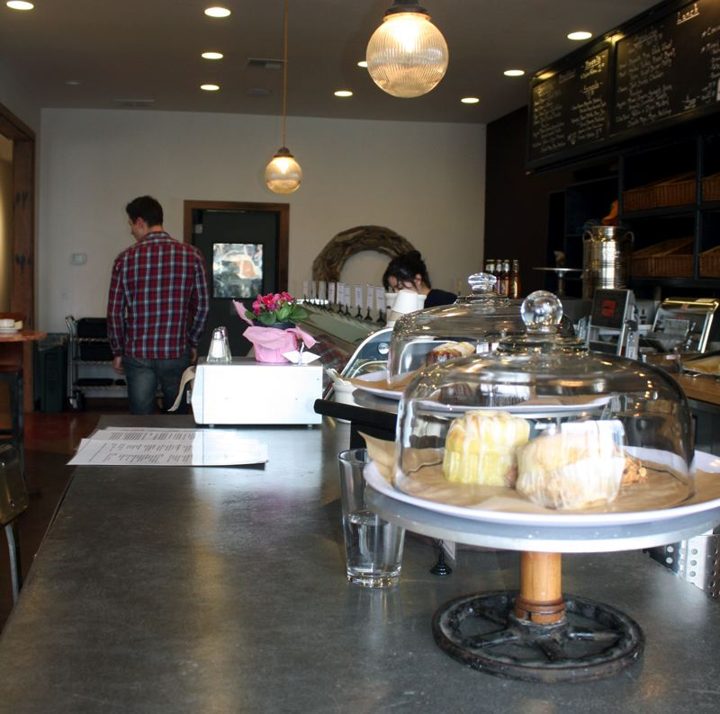 by: POST PHOTO: KYLIE WRAY - Cafe Manager Susa Lynne said many customers have been coming in to try AntFarms new menu.