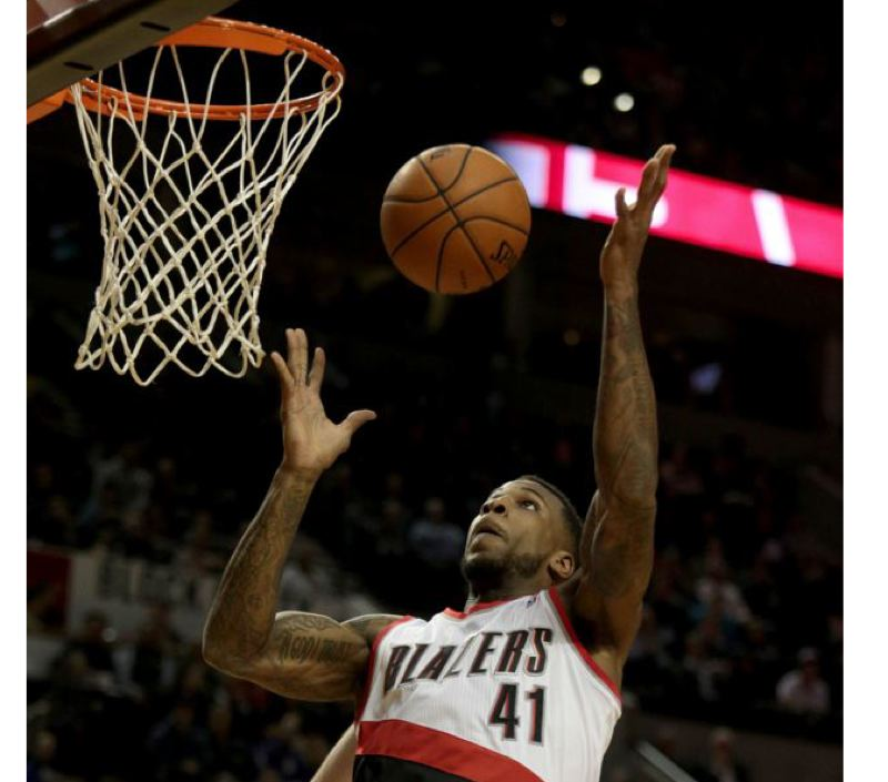 by: TRIBUNE FILE PHOTO: JONATHAN HOUSE - Thomas Robinson helped spark the Trail Blazers to a victory Sunday at home over Minnesota.