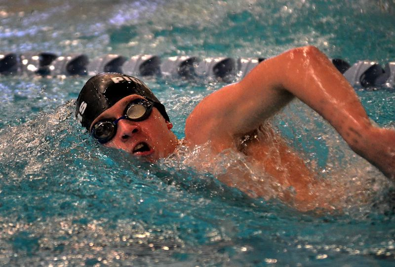 by: VERN UYETAKE - OCs Josh Morton, sixth at state in the 200-free, ninth in the butterfly