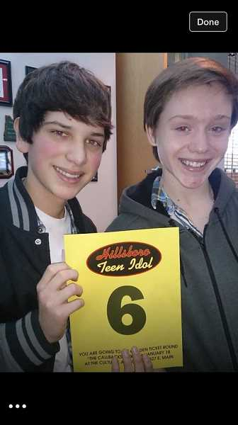by: COURTESY IMAGE - Joseph Apodaca, 15 (left), and Drew Miller, 14, both Hillsboro High School students, left campus last Friday afternoon and havent been seen since. They reportedly were heading to Portland to attend a concert.