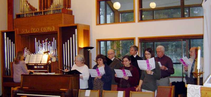 by: COURTESY PHOTO - The St. Bedes choir will be singing all day Saturday -- stop by and support them.