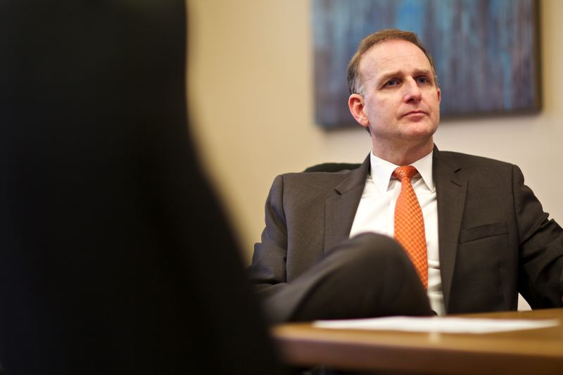 by: TRIBUNE PHOTO; JAIME VALDEZ - Multnomah County District Attorney Rod Underhill has pushed for changes aimed at getting more homeless people to make their community court hearings.