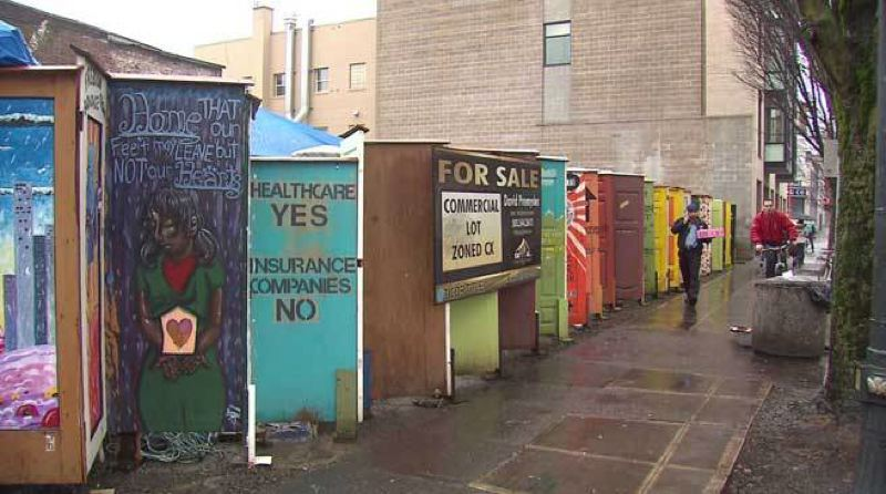 by: KOIN NEWS 6 - The city looking for a new location for the Right 2 Dream Too homeless camp.