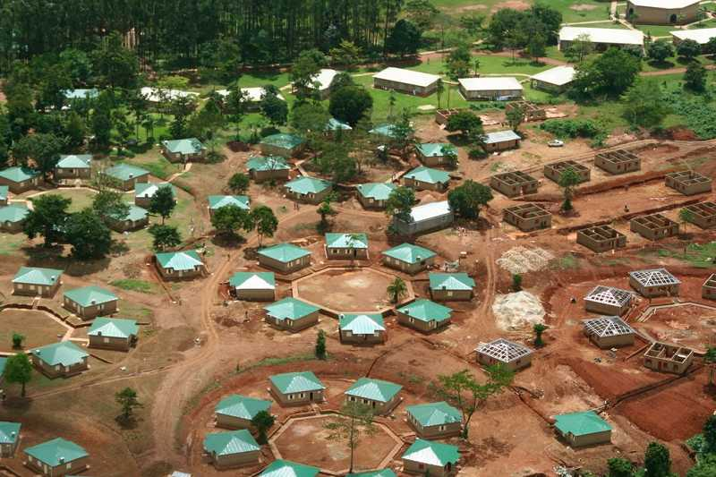 by: SUBMITTED PHOTO - The Watoto Children's Village in Kampala, Uganda, aims to assemble families for children orphaned by the AIDS/HIV epidemic.