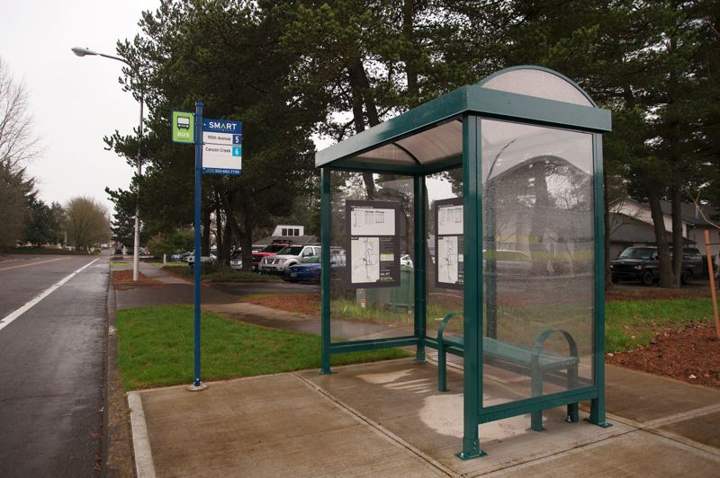 by: SPOKESMAN PHOTO: JOSH KULLA - If the Wilsonville City Councill approves a proposed ordinance, smoking would be prohibited within 20 feet of all SMART bus shelters and stops.