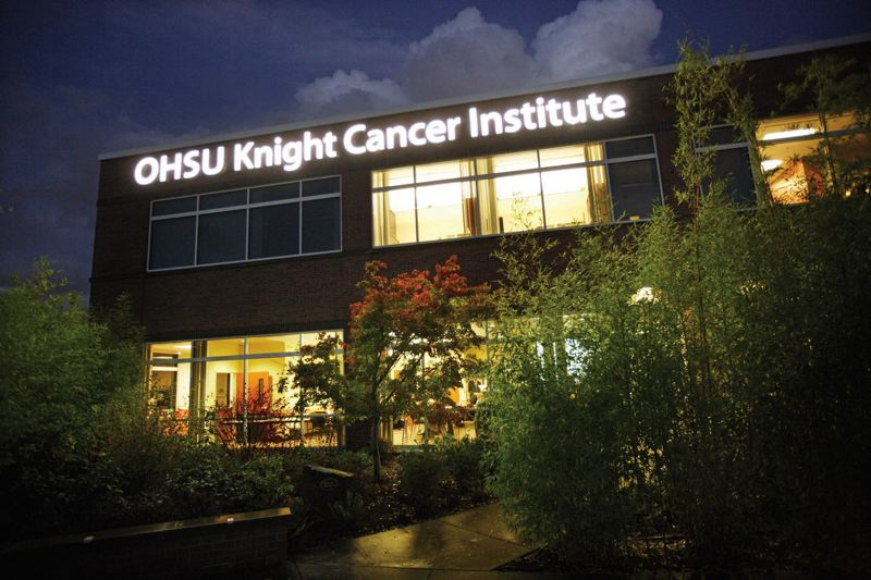 by: COURTESY PHOTO: OHSU - Can 20 to 30 of the country's top cancer scientists be lured to OHSU's Knight Cancer Institute? OHSU officials think a new blueprint for how science is funded nationwide could come out of their efforts.