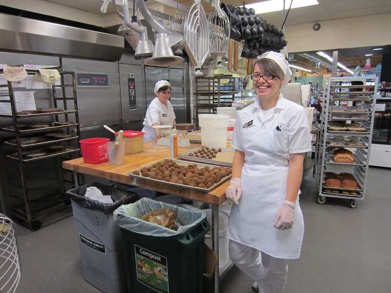 by: SUBMITTED PHOTO: ASHLEY TJADEN - Market of Choice in West Linn not only makes great food. The business is praised by Clackamas County for a wonderful, spectacular food waste reduction program.