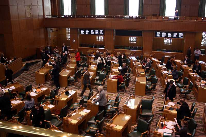 by: NEWS-TIMES PHOTO: DOUG BURKHARDT - The Oregon House of Representatives approved House Bill 4078 last week with a unanimous vote.