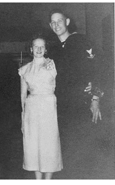 Barbara and Antone Wergin in 1954.