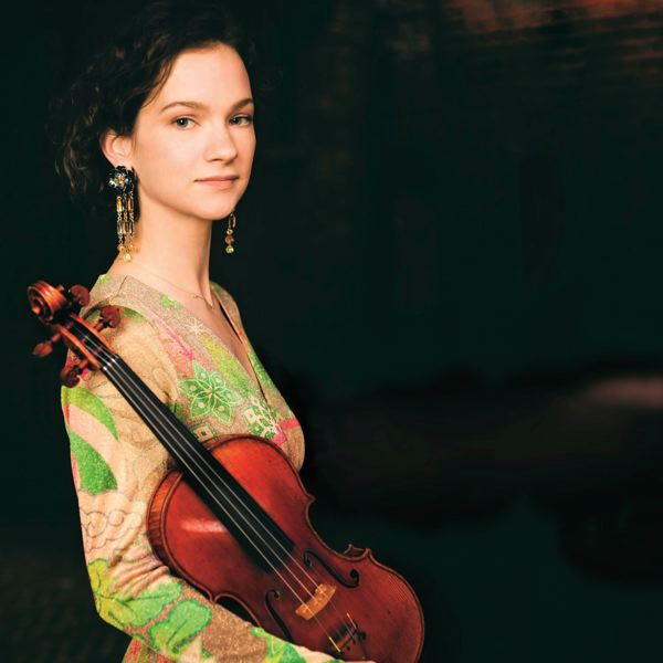 by: COURTESY OF MICHAEL PATRICK OLEARY - Two-time Grammy-winning violinist Hilary Hahn plays again with the Oregon Symphony, March 8-10.