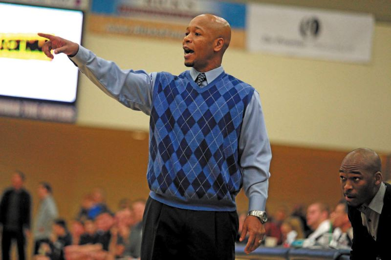 by: TRIBUNE PHOTO: JONATHAN HOUSE - Pat Strickland, Jefferson High boys basketball coach, says his team will have to play hard, defend and rebound to repeat as state champion.