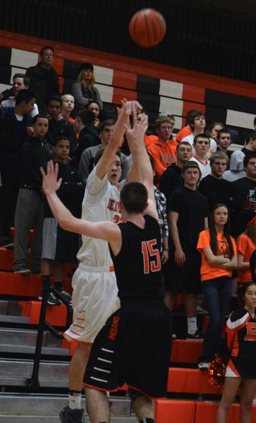 by: TIMES PHOTO: MATT SINGLEDECKER - Beaverton swingman Sam Parker had 12 points including two huge threes in the fourth to help the Beavers beat Roseburg on Saturday.