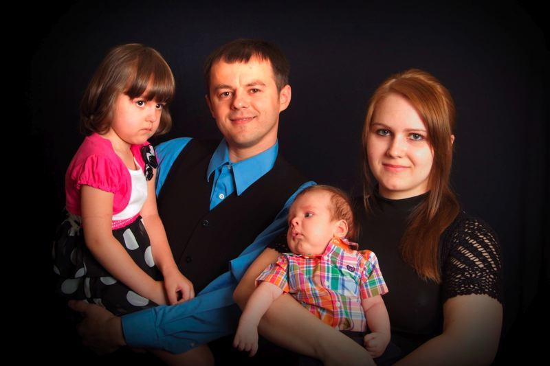by: CONTRIBUTED PHOTO - From left, Eveline, Bogdan, Elijah and Jenn Chopyk.