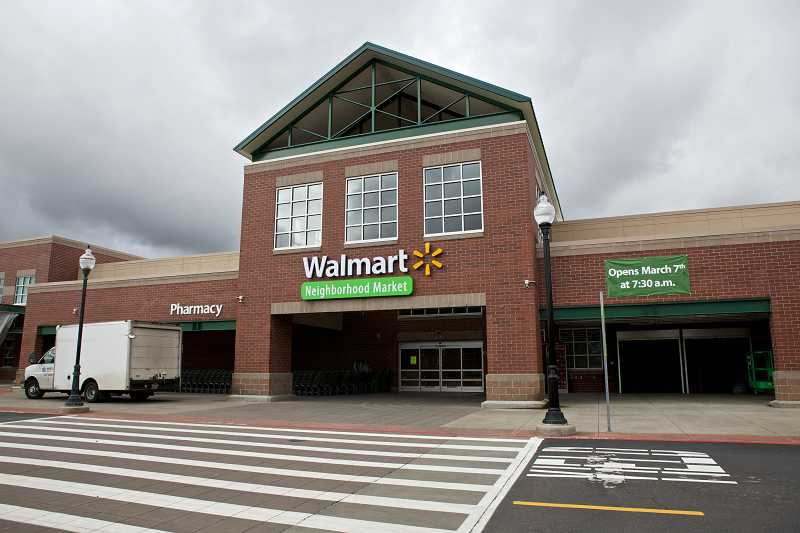 by: TIMES PHOTO: JAIME VALDEZ - The Walmart Neighborhood Market on Murray Boulevard will open its doors on Friday.