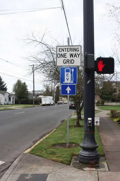 by: HILLSBORO TRIBUNE PHOTO: DOUG BURKHARDT - Members of the city council could vote as soon as March 18 on whether to put a stop to one-way grids in the downtown business district.