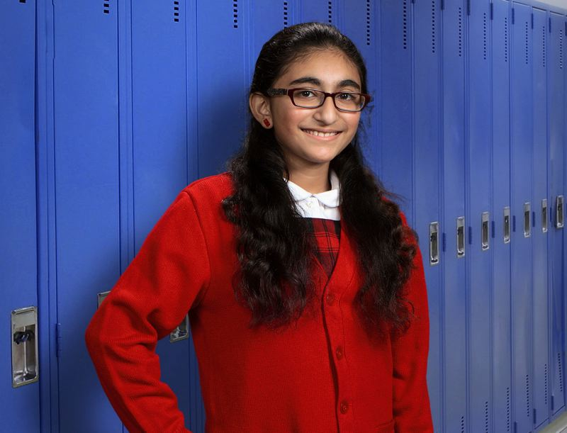 by: COURTESY PHOTO - Vipanchi Mungara, 10, will represent Hillsboros Carden Cascade Academy at the Regional Spelling Bee in Portland on March 15. She hopes to qualify for the national bee.