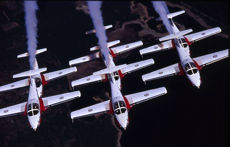 by: COURTESY PHOTO: OREGON INTERNATIONAL AIR SHOW - The Canadian Forces Snowbirds jet demonstration team has recommitted to being the headline performer at the 2014 Oregon International Air Show Sept. 19-21 at the Hillsboro Airport.