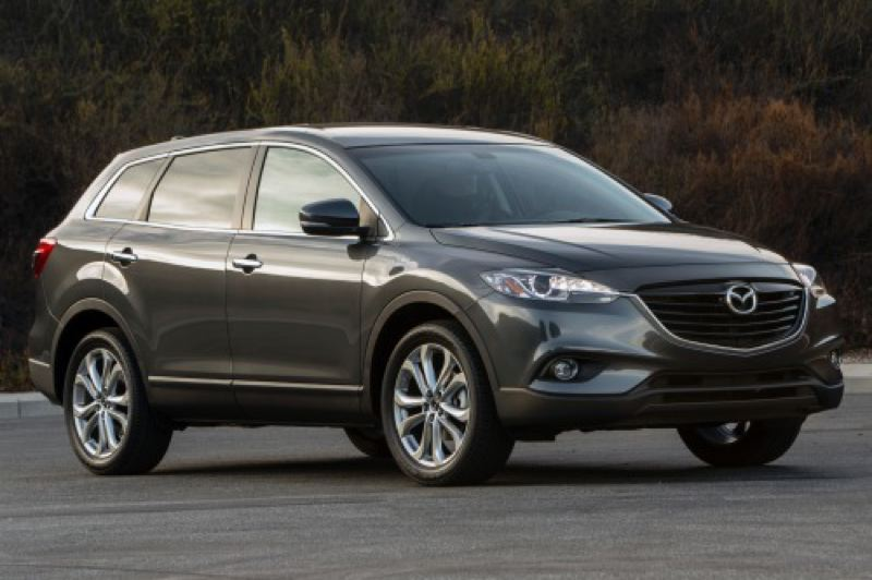 by: MAZDA NORTH AMERICAN OPERATIONS - The stylish 2014 Mazda CX-9 is unchanged from last year, which is a good thing.