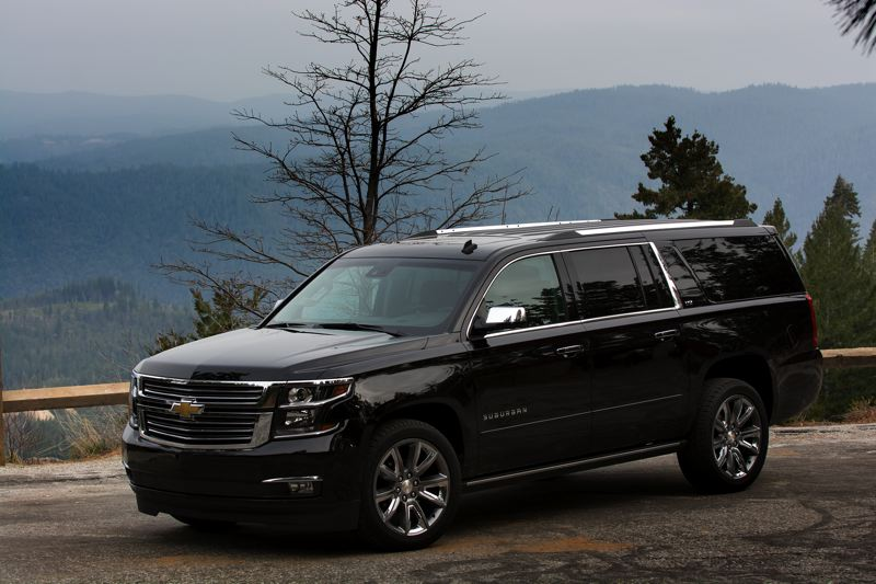 by: JOHN M. VINCENT - Chevy's Suburban is the longest continuously serving nameplate in the American auto industry, with the first model hitting the roads in 1935. For 2015, the biggest Chevy is new inside and out, featuring GM's new 5.3-liter EcoTec3 V-8 engine.