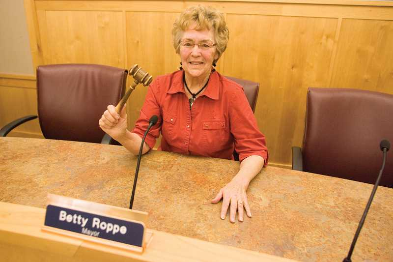 by: KEVIN SPERL - Prineville City Mayor, Betty Roppe is offering high school students the chance to take her gavel for the day, in the 'If I were Mayor, I would...' contest.