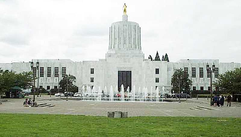 by: SUBMITTED - The Oregon State Capitol building is quiet this week after adjournment of the short legislative session on March 7.
