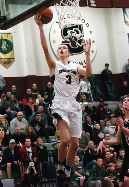 by: DAN BROOD - BIG-GAME BEN -- Sherwood junior Ben Milligan scored seven points and had two steals in the final 3:15 of the Bowmen's 41-31 win over Silverton Saturday in a Class 5A state playoff game.
