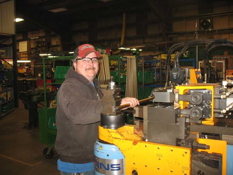 Lance Mitchell at work at KEITH Manufacturing.