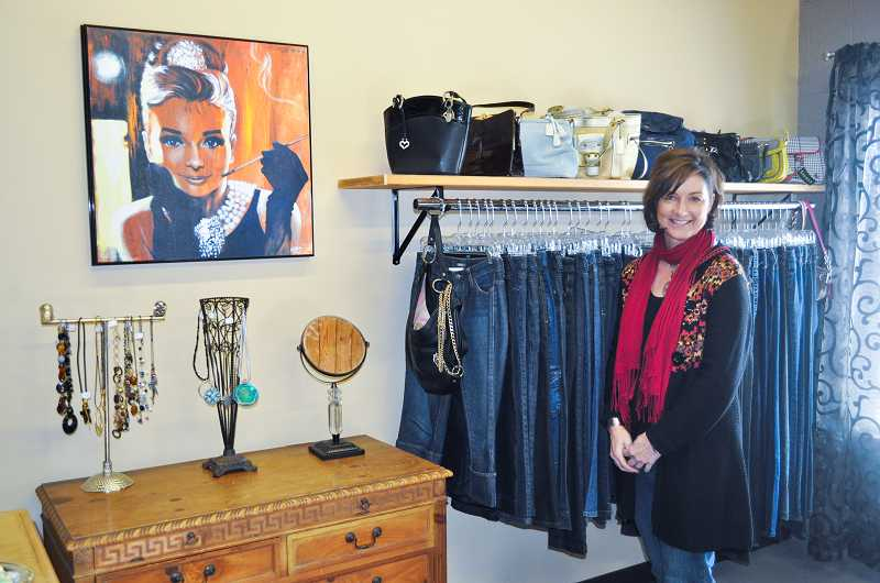 by: NEWS-TIMES PHOTO: MICHELLE THOMAS - Victoria Webster loves the small-community, college-town feel of Forest Grove, which she said makes it easier to develop relationships with other business owners.