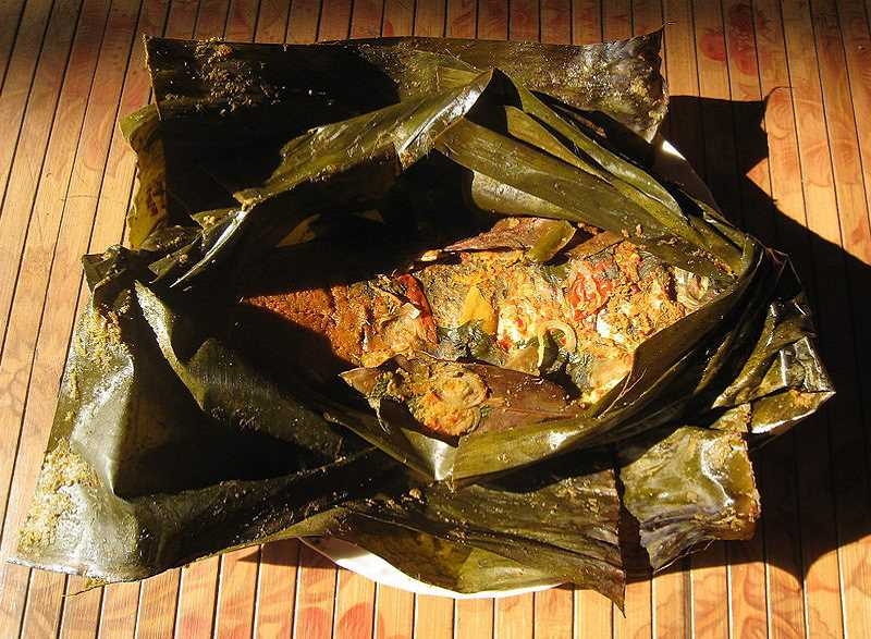 by: SUBMITTED PHOTO - Chef Surja Tjahaja will host a cooking class March 29 on pepes, an Indonesian cooking method that calls for wrapping food in banana leaves.